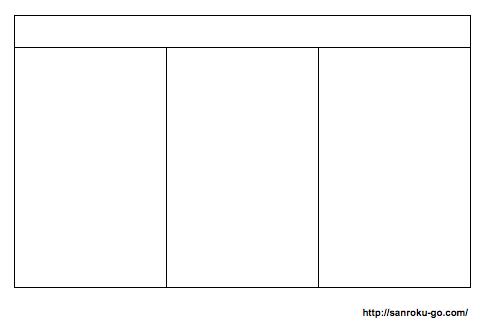 ノートの取り方のコツを説明した図