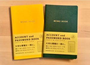 パスワードをノートで管理するメリットとおすすめノートをご紹介